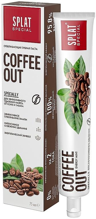 Zubná pasta s enzymatickým komplexom - SPLAT Cofee Out