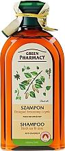 """Voňavky, Parfémy, kozmetika Šampón """"Zinok + Brezový decht"""" - Green Pharmacy"""