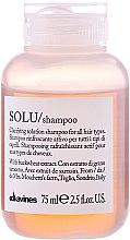 Voňavky, Parfémy, kozmetika Aktívne osviežujúci šampón pre hlboké čistenie vlasov - Davines Solu Shampoo