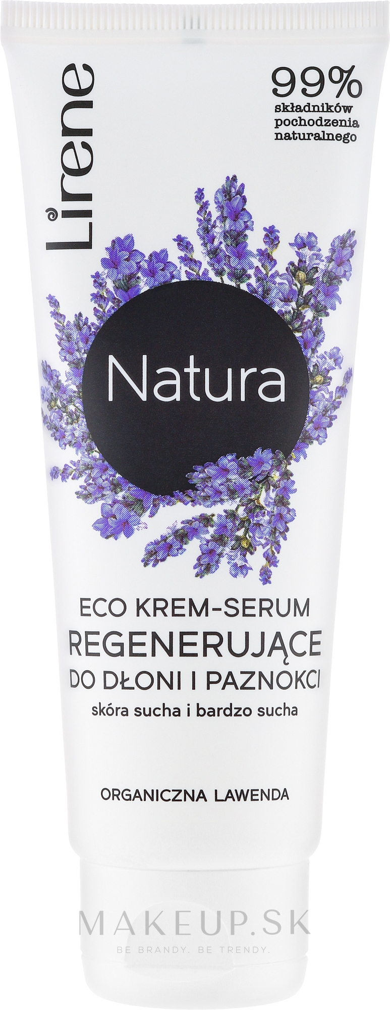 """Krém na ruky """"Levanduľa"""" - Lirene Natura Eco — Obrázky 75 ml"""