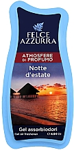 Voňavky, Parfémy, kozmetika Osviežovač - Felce Azzurra Gel Air Freshener Notte d'estate