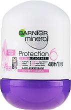 Voňavky, Parfémy, kozmetika Guľôčkový dezodorant - Garnier Mineral Protection 6 Cotton Fresh