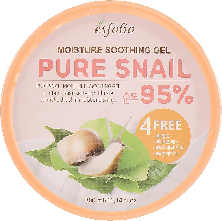 Hydratačný slimačí gél - Esfolio Pure Snail Moisture Soothing Gel 95% Purity