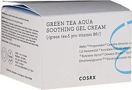 Voňavky, Parfémy, kozmetika Upokojujúci gél-rém na tvár - Cosrx Hydrium Green Tea Aqua Soothing Gel Cream