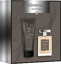 Voňavky, Parfémy, kozmetika Allvernum Tobacco & Amber - Sada (edp/100ml + sh/gel/200ml)