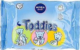 Voňavky, Parfémy, kozmetika Vlhké utierky detské - Nivea Baby Toddies Multifunctional Napkins