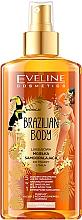 Voňavky, Parfémy, kozmetika Hydratačný olej na tvár a telo s opaľovacím efektom - Eveline Cosmetics Brazilian Mist Face & Body