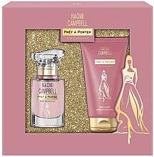 Voňavky, Parfémy, kozmetika Naomi Campbell Pret a Porter Silk Collection - Sada (edt/15ml + b/lot/50ml)