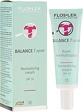 Voňavky, Parfémy, kozmetika Denný normalizačný krém na tvár - FlosLek Balance T-Zone Normalizing Day Cream SPF 10