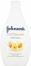 """Voňavky, Parfémy, kozmetika Sprchový gél """"Mandle a jazmín"""" - Johnson`s Body Wash Soft & Pamper"""