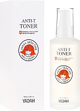 Voňavky, Parfémy, kozmetika Upokojujúci toner pre citlivú a problematickú pleť - Yadah Anti-T Toner