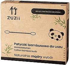Voňavky, Parfémy, kozmetika Bambusové bavlnené tyčinky - Zuzii Bamboo Cotton Buds