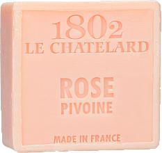 Voňavky, Parfémy, kozmetika Mydlo - Le Chatelard 1802 Soap Rose Pione