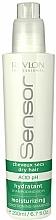 Voňavky, Parfémy, kozmetika Šampón-kondicionér hydratačný krém na suché vlasy - Revlon Professional Sensor Shampoo Moisturizing