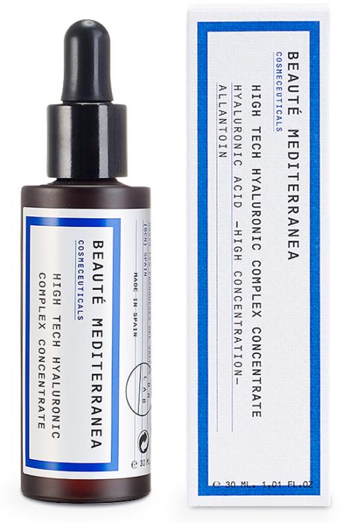 Sérum na tvár s kyselinou hyalurónovou - Beaute Mediterranea High Tech Hyaluronic Complex Concentrate