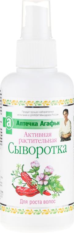 Sérum pre rast vlasov - Recepty babičky Agafji Lekárnička Agafji