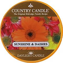 """Voňavky, Parfémy, kozmetika Čajová sviečka """"Slnečné svetlo a harmanček"""" - Country Candle Sunshine & Daisies Daylight"""