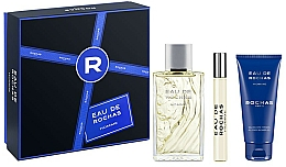 Voňavky, Parfémy, kozmetika Rochas Eau de Rochas Homme - Sada (edt/100ml + sh/gel/100ml + edt/20ml)