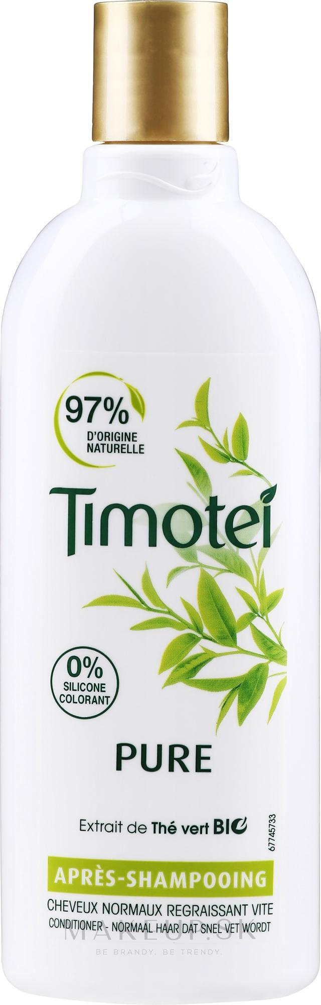 """Balzam na vlasy """"Mäkká starostlivosť"""" - Timotei Pure Conditioner — Obrázky 300 ml"""
