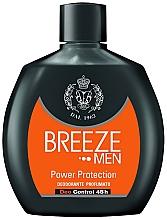Voňavky, Parfémy, kozmetika Dezodorant - Breeze Men Power Protection Deo Control 48H