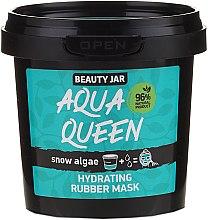 Voňavky, Parfémy, kozmetika Hydratačná zlupovacia maska na tvár s extraktom z morských rias - Beauty Jar Face Care Aqua Queen Rubber Mask