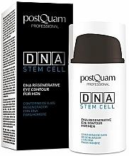 Voňavky, Parfémy, kozmetika Očný krém pre mužov - PostQuam Global Dna Men Intensive Eye Contour