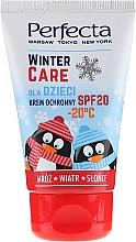 Voňavky, Parfémy, kozmetika Ochranný zimný krém pre deti - Perfecta Winter Care Cream SPF20