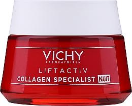 Voňavky, Parfémy, kozmetika Kolagénový nočný krém-starostlivosť o tvár - Vichy LiftActiv Collagen Specialist Night