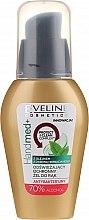 Voňavky, Parfémy, kozmetika Antibakteriálny gél na ruky s čajovníkovým olejom, 70% alkoholu - Eveline Cosmetics Handmed+, 70% Alcohol