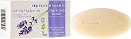"""Voňavky, Parfémy, kozmetika Mydlo """"Zvlhčujúce a upokojujúce"""" - Bentley Organic Body Care Calming & Moisturising Soap Bar"""