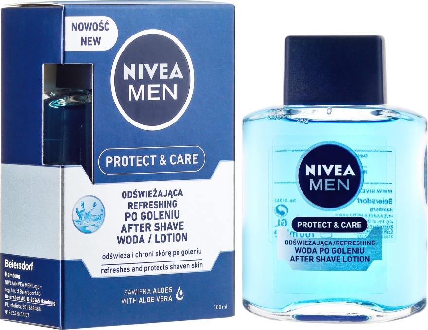 """Hydratačný lotion po holení """"Klasický"""" - Nivea For Men After Shave Lotion — Obrázky N1"""