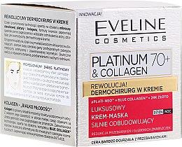 Voňavky, Parfémy, kozmetika Krém-maska na tvár - Eveline Cosmetics Platinum & Collagen Luxury Cream-Mask