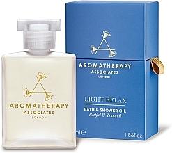 Voňavky, Parfémy, kozmetika Relaxačný kúpeľový a sprchový olej - Aromatherapy Associates Light Relax Bath & Shower Oil