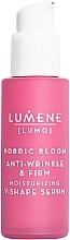 Voňavky, Parfémy, kozmetika Spevňujúce a liftingové sérum na tvár - Lumene Lumo Nordic Bloom Anti-wrinkle & Firm Moisturizing V-Shape Serum