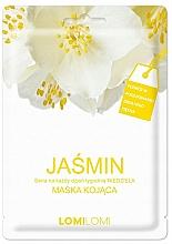 """Voňavky, Parfémy, kozmetika Upokojujúca textílna maska na tvár """"Jazmín"""" - Lomi Lomi Jasmine Mask"""