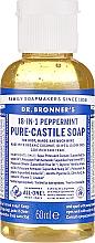 "Voňavky, Parfémy, kozmetika Tekuté mydlo ""mäta"" - Dr. Bronner's 18-in-1 Pure Castile Soap Peppermint"
