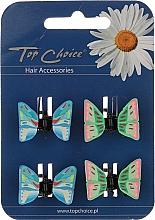 Voňavky, Parfémy, kozmetika Štipec na vlasy 4 ks, 24764 - Top Choice