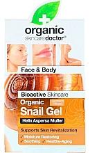 Voňavky, Parfémy, kozmetika Gél na tvár a telo s extraktom zo slimačieho slizu - Dr. Organic Bioactive Skincare Snail Gel