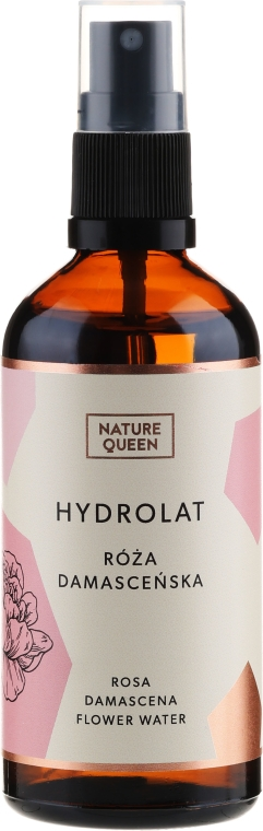 "Hydrolat ""Damašková ruža"" - Nature Queen"