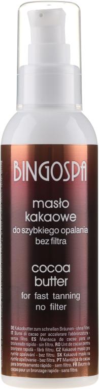 Kakao-olej pre rýchle opaľovanie - BingoSpa Cocoa Butter