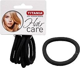 Voňavky, Parfémy, kozmetika Spony na vlasy, elastické, 6 ks, čierne, 6 mm - Titania