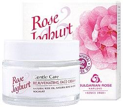 Voňavky, Parfémy, kozmetika Omladzujúci krém na tvár - Bulgarian Rose Rose & Joghurt Rejuvenating Face Cream