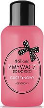 Voňavky, Parfémy, kozmetika Odlakovač na nechty s glycerínom - Silcare