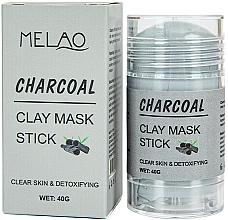 Voňavky, Parfémy, kozmetika Maska na tvár v tyčinke Charcoal - Melao Charcoal Clay Mask Stick