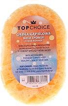 Voňavky, Parfémy, kozmetika Špongia do kúpeľa 30451, žltá - Top Choice