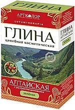 """Voňavky, Parfémy, kozmetika Zelená kozmetická hlina """"Altajská"""" s výťažkom zo šípky - Artkolor"""
