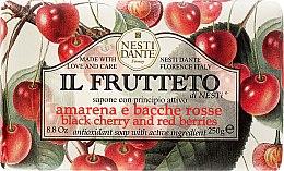 """Voňavky, Parfémy, kozmetika Mydlo """"Čerešne a červené bobule"""" - Nesti Dante Il Frutteto Soap"""