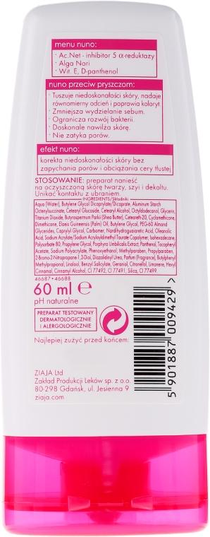 Krém tónovaci proti akné, béžový - Ziaja Cream Toning Acne — Obrázky N2