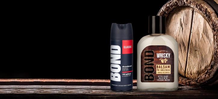 Pri nákupe produktov Bond alebo Bond Expert v hodnote vyše 7 € získaj ako darček dezodorant