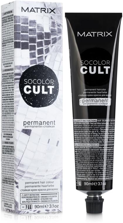 Permanentná farba na vlasy - Matrix Socolor Cult Permanent Haircolor — Obrázky N1